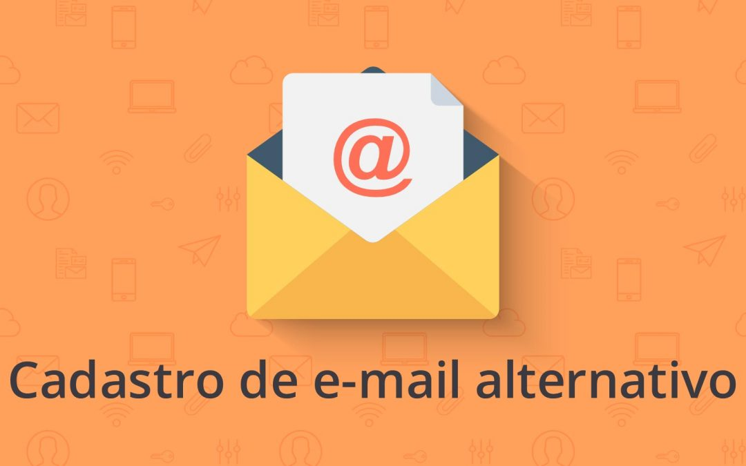 Cadastro de e-mail para recuperação de senha